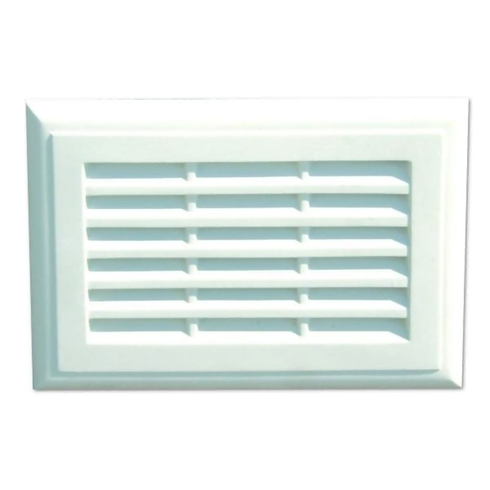 Plaster Vent 230 x 150mm With Flyscreen Ref PL96F
